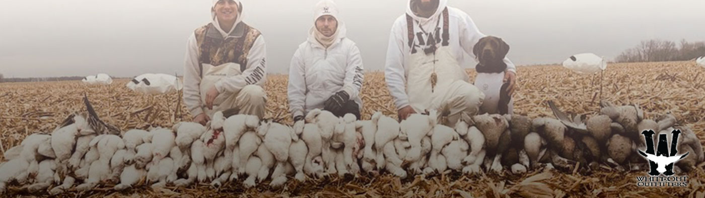Clay ORourke Snow Goose Hunting Guide